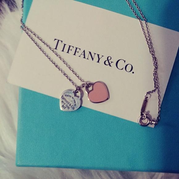 44a8be7d7 ... Tiffany Pink Mini Heart Tag Necklace. M_5be446a9bb76153d090b4888